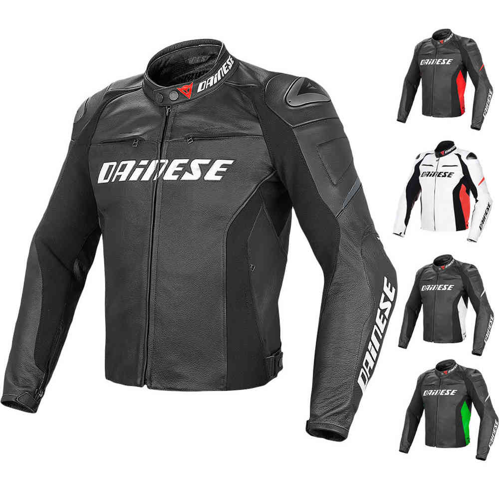 Dainese Racing D1 Motorcycle Leather Jacket ...