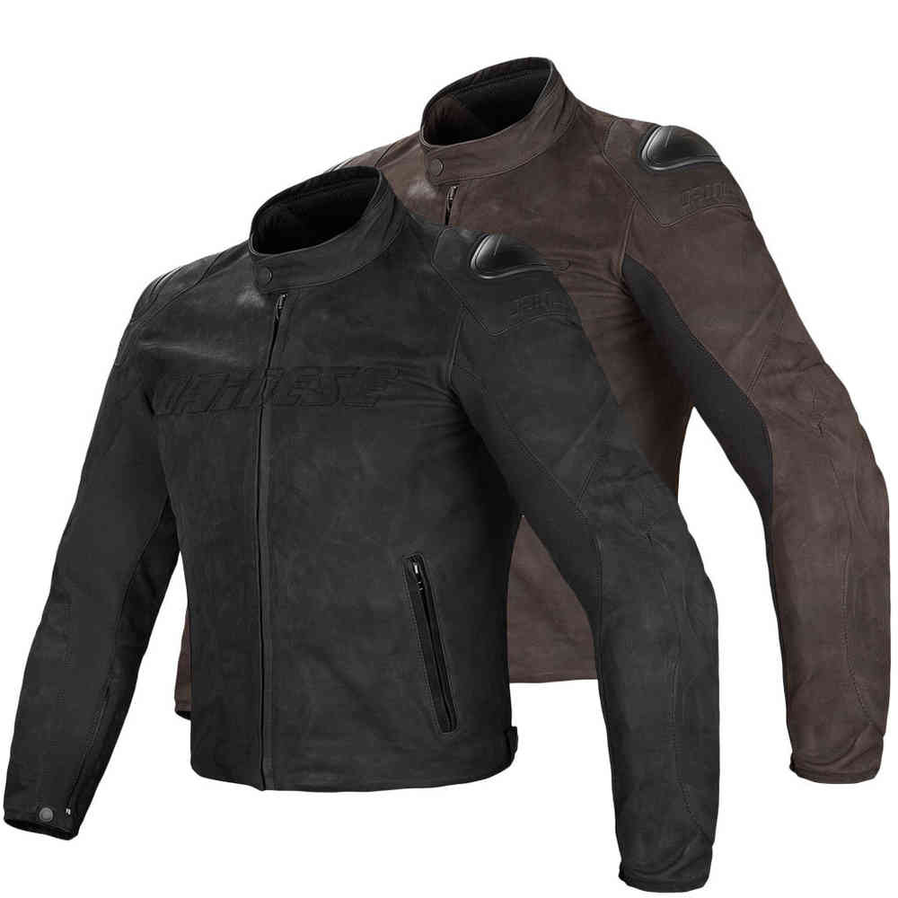 Dainese Street Rider Motorcycle Leather Jacket ...