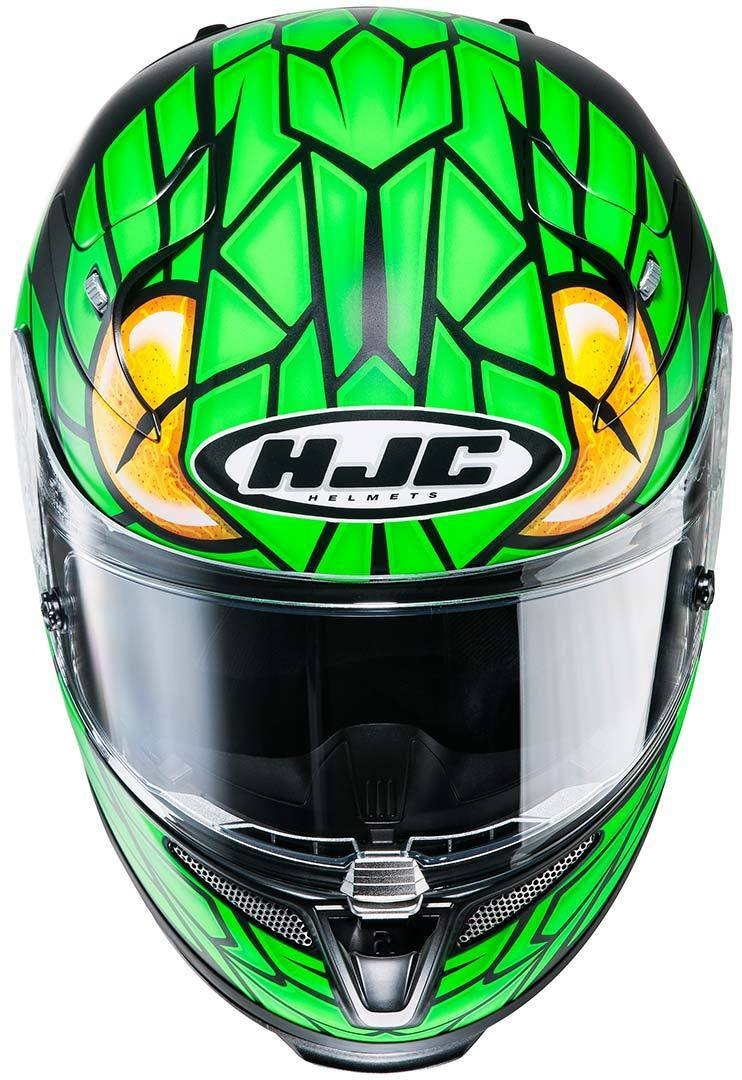 hjc rpha 10 plus green mamba helm g nstig kaufen fc moto. Black Bedroom Furniture Sets. Home Design Ideas