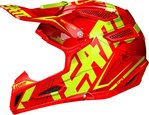 Leatt GPX 5.5 Junior Barna Motocross hjelm oransje