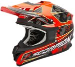 Scorpion VX-15 Evo Air Magma Casque de Cross