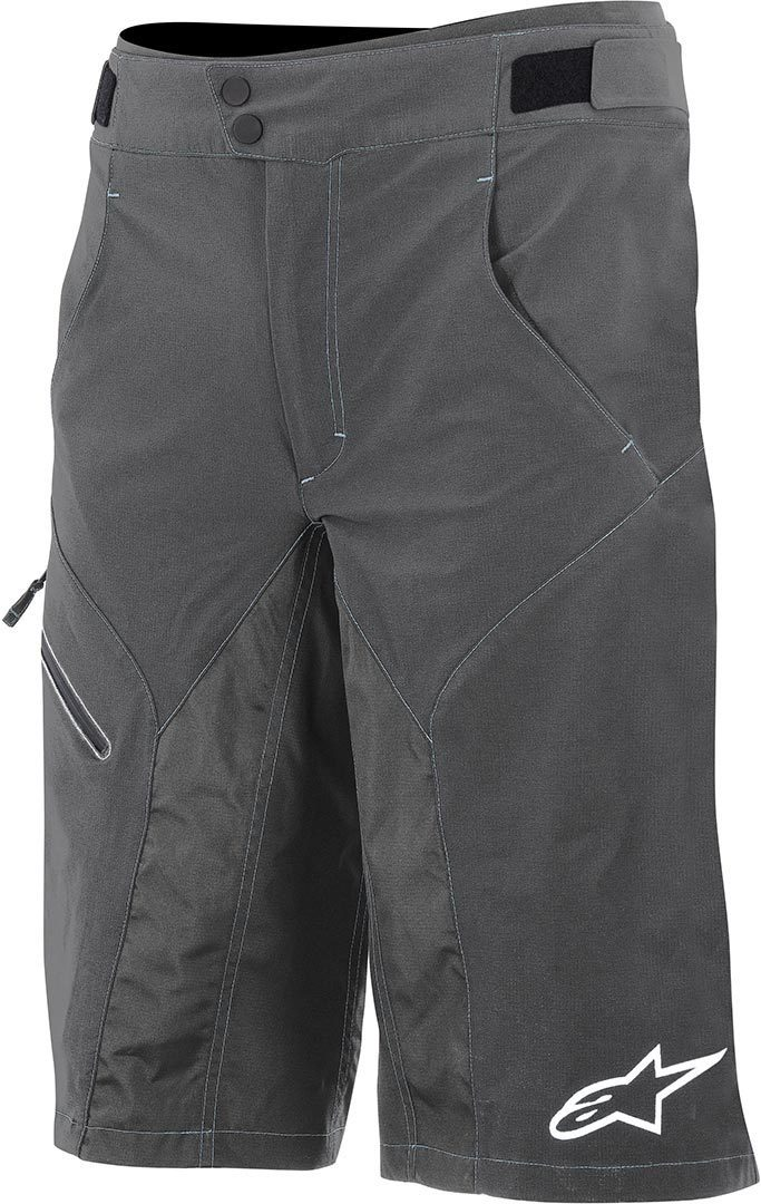 Alpinestars Outrider Bicycle Shorts, grey, Size 28, grey, Size 28