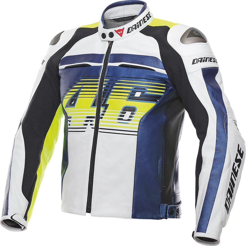 508c4b6f6c2 Dainese VR46 D1 Leather Jacket - buy cheap ▷ FC-Moto
