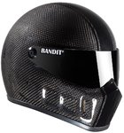 Bandit Super Street 2 Carbon Race Casque de moto