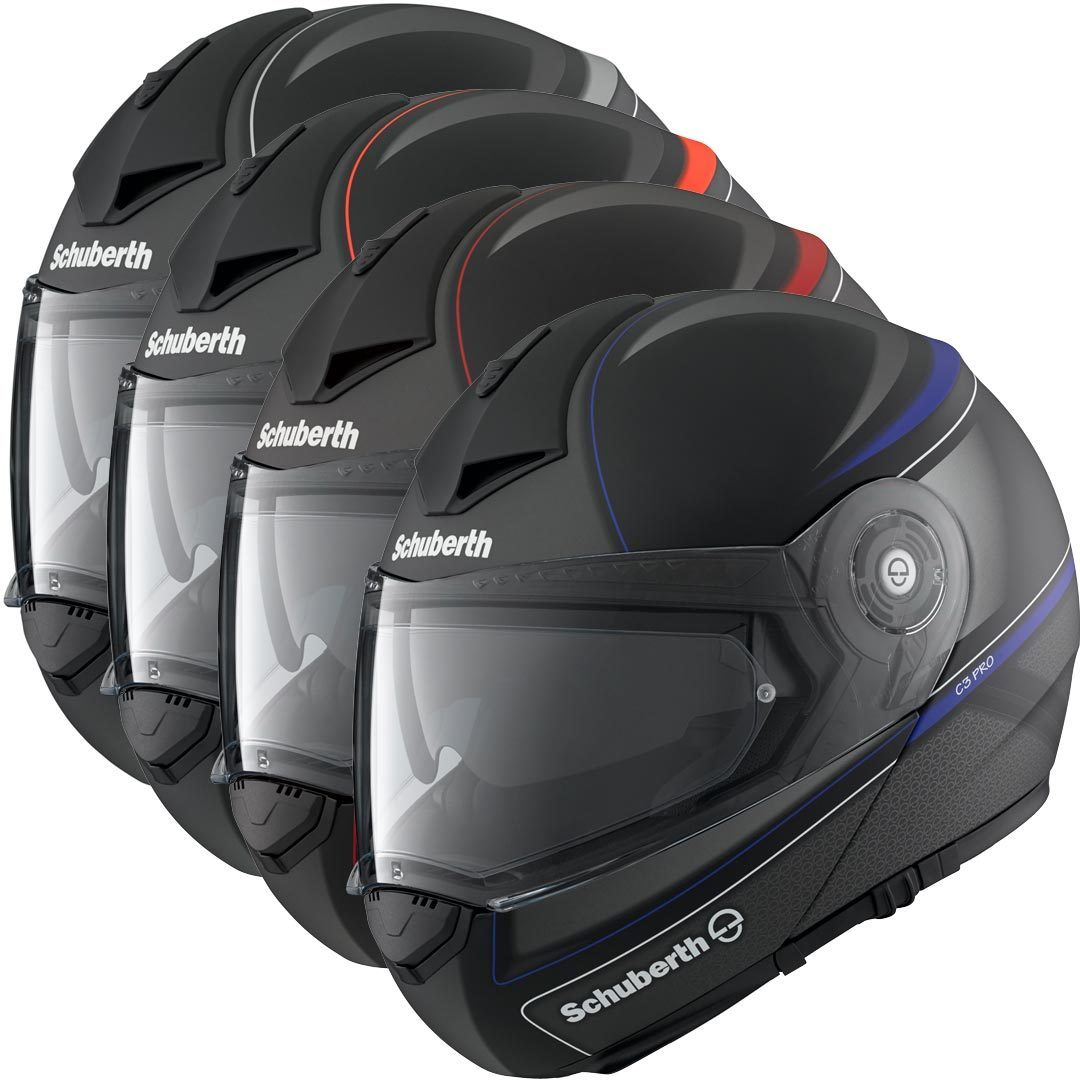 schuberth c3 pro dark classic klapphelm g nstig kaufen. Black Bedroom Furniture Sets. Home Design Ideas