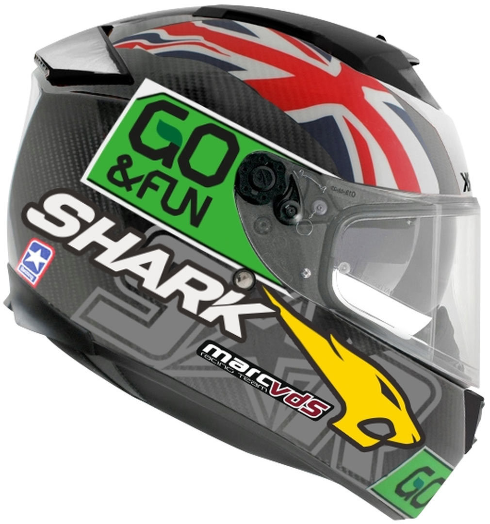 shark speed r series 2 carbon redding go fun helm. Black Bedroom Furniture Sets. Home Design Ideas