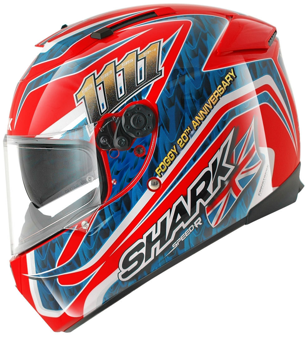 shark speed r series 2 foggy helm g nstig kaufen fc moto. Black Bedroom Furniture Sets. Home Design Ideas