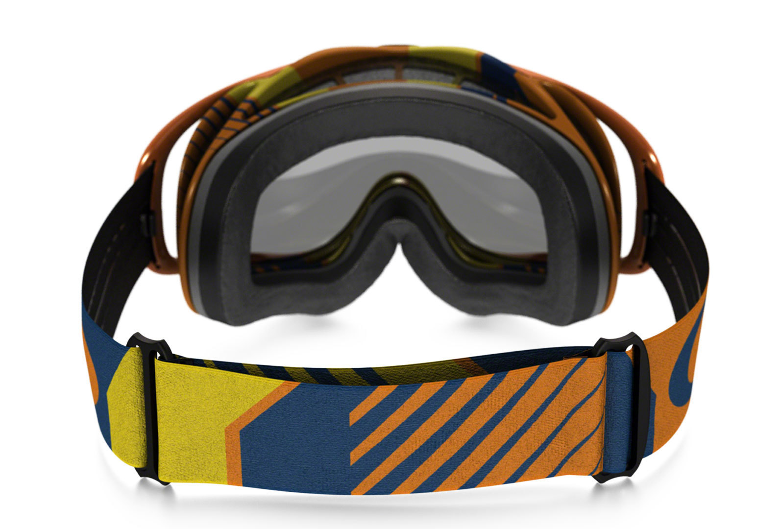 oakley crowbar mx bio hazard orange blue clear g nstig kaufen fc moto. Black Bedroom Furniture Sets. Home Design Ideas