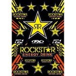 Büse FX Sponsor Sticker Kit Rockstar