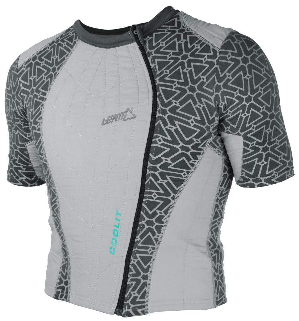 Leatt Coolit Junior Cooling Shirt, grau, grau