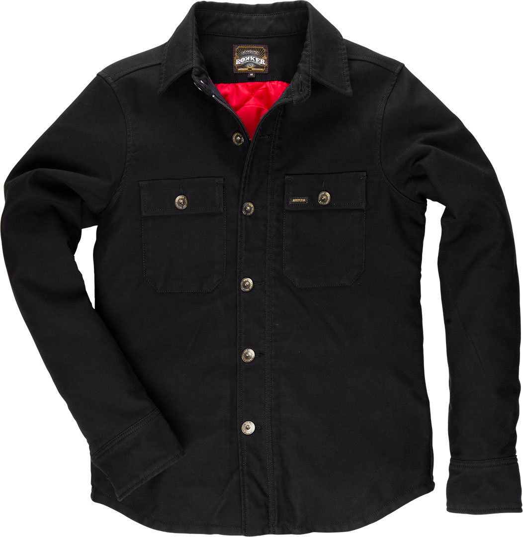 Rokker Black Jack Rider Shirt Warm - buy cheap ▷ FC-Moto