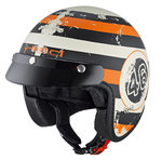 Held Black Bob Decor Jet Helmet