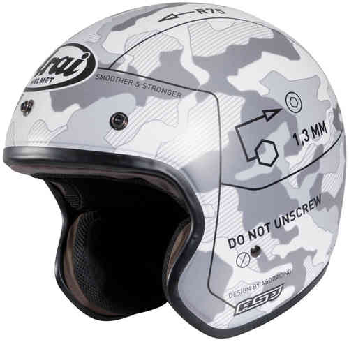 Arai Freeway 2 Command Frost White