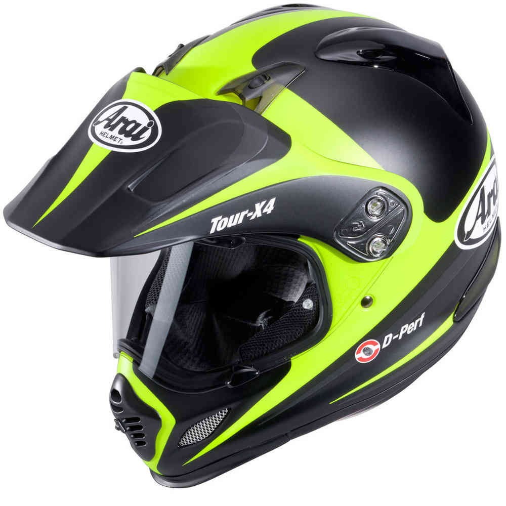 Arai Tour-X 4 Route Enduro Helm Gelb Matt