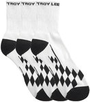 Troy Lee Design Crew Checker Socken - 3er Pack