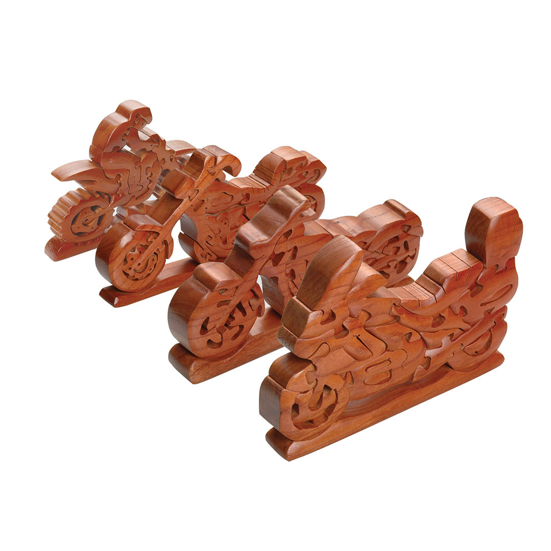 Booster Motorrad Holz Puzzle 183-1253-707
