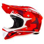O´Neal Warp Edgy Camo Casco descenso