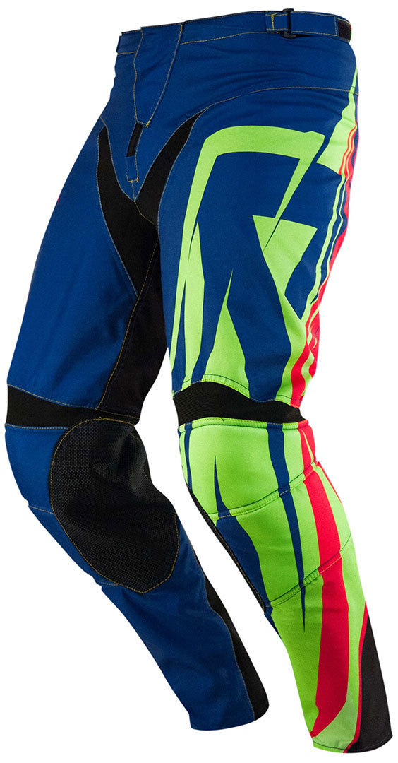 Acerbis Suckerpunch SE Motocross Hose Blau Gelb 28
