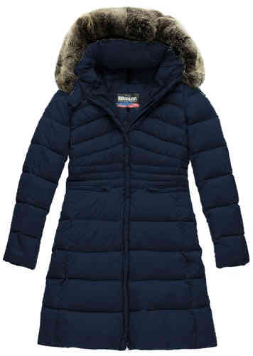 Blauer Trench USA Lady
