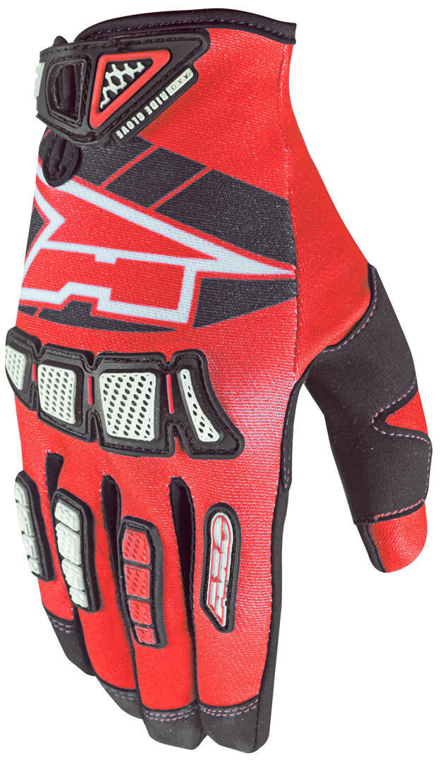 Whip Gants de motocross Rouge XL