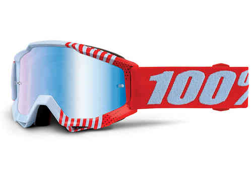 Accuri Youth Extra Goggle-Red/Light Blue