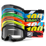 100% Strata JR Kids Motocross Goggles
