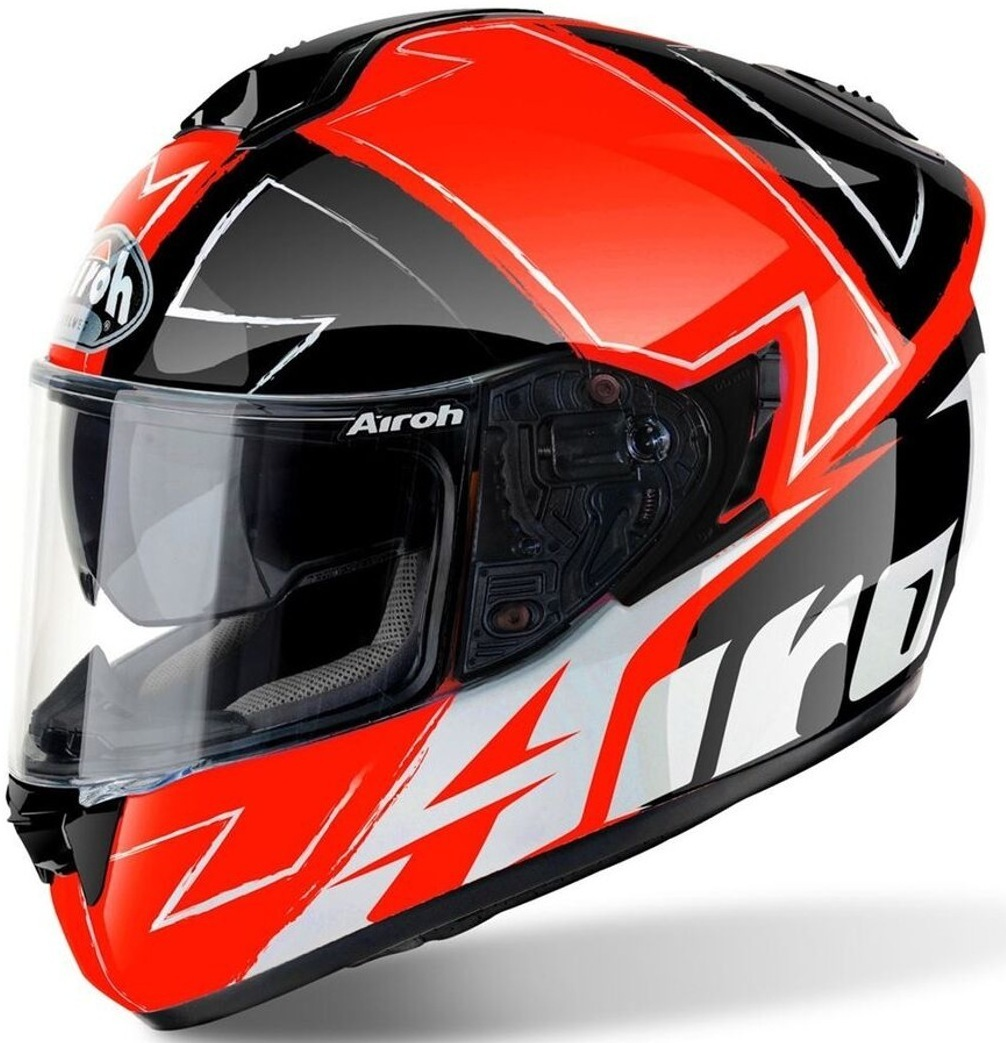 Airoh ST 701 Way Helm Schwarz Orange XS