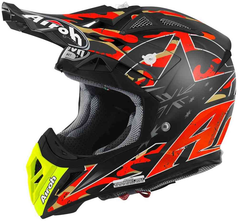 Airoh Aviator 22 Phillips Replica Motocross Helmet Orange Buy