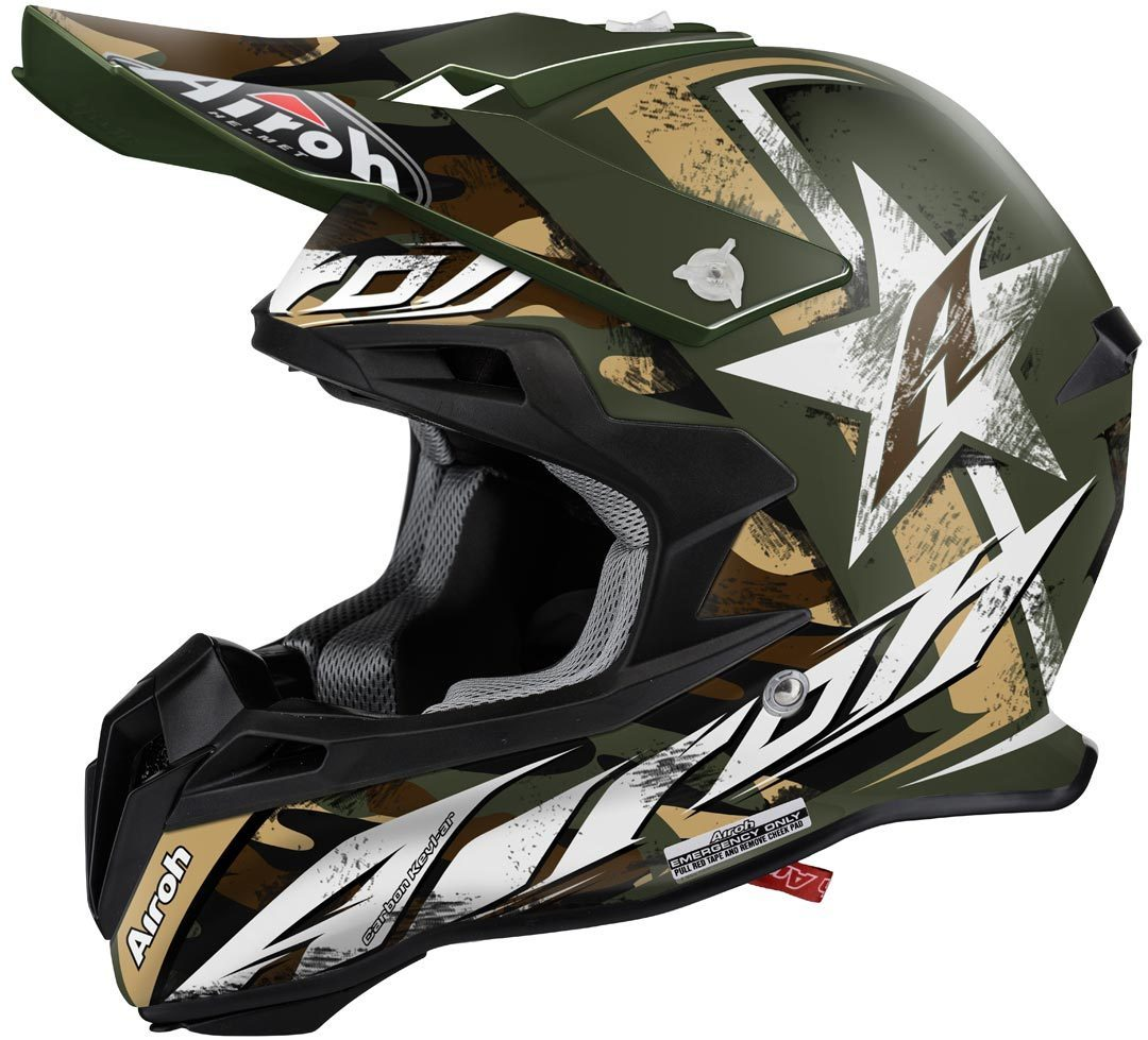 Airoh Terminator 2.1 Ground Motocross Helm Grün XS