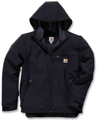 Crowley Hooded-Zwart-XL