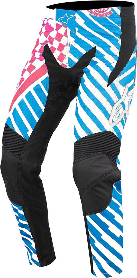 Alpinestars Sight Speedster Bicycle Pants, red-blue, Size 30, red-blue, Size 30