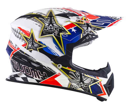 Suomy Rumble Tex Cross Helm