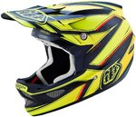 Troy Lee Designs D3 Reflex Yellow Hjälm
