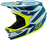 Troy Lee Designs D3 Reflex Gray/Yellow