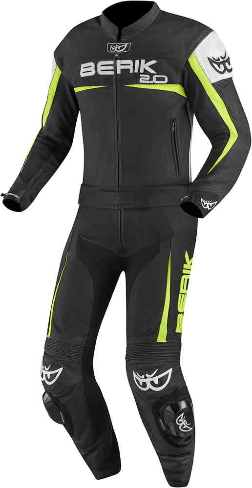 Berik Flumatic Two Piece Motorcycle Leather Suit