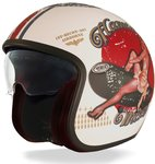 Premier Vintage Pin Up Capacete do jato