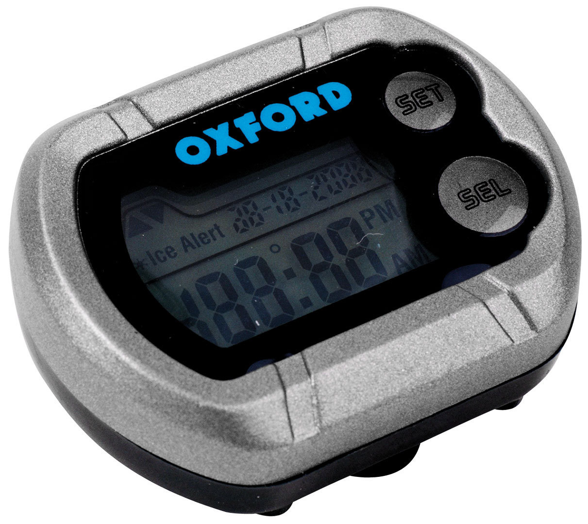 Oxford Deluxe Motorrad Digitaluhr OX562