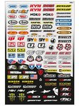 Büse FX Micro Sponsor Sticker Kit M