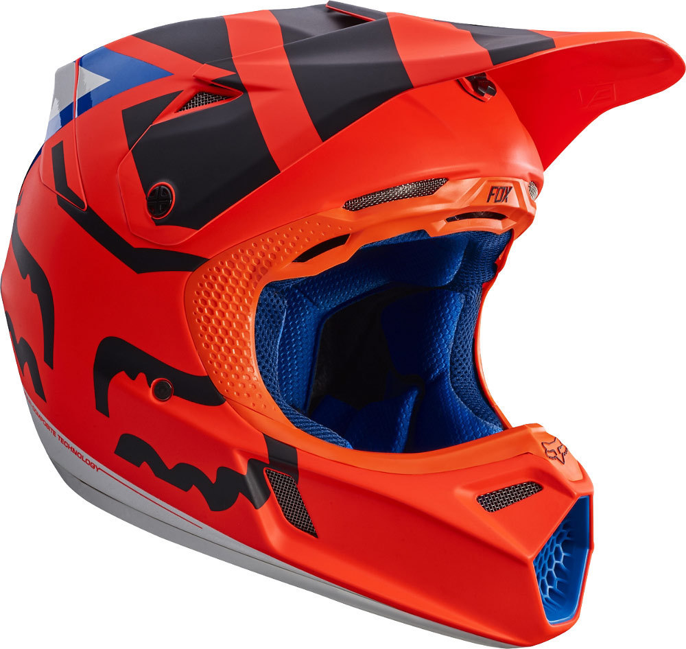 fox v3 creo mx helmet buy cheap fc moto. Black Bedroom Furniture Sets. Home Design Ideas