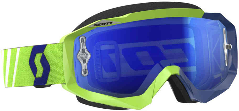 Scott Hustle MX Masques de motocross vert/bleu