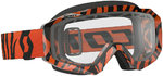 Scott Hustle MX Enduro Motocross briller svart/Fluo oransje