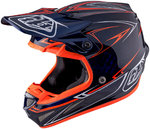 Troy Lee Designs SE4 Pinstripe Carbon Helm