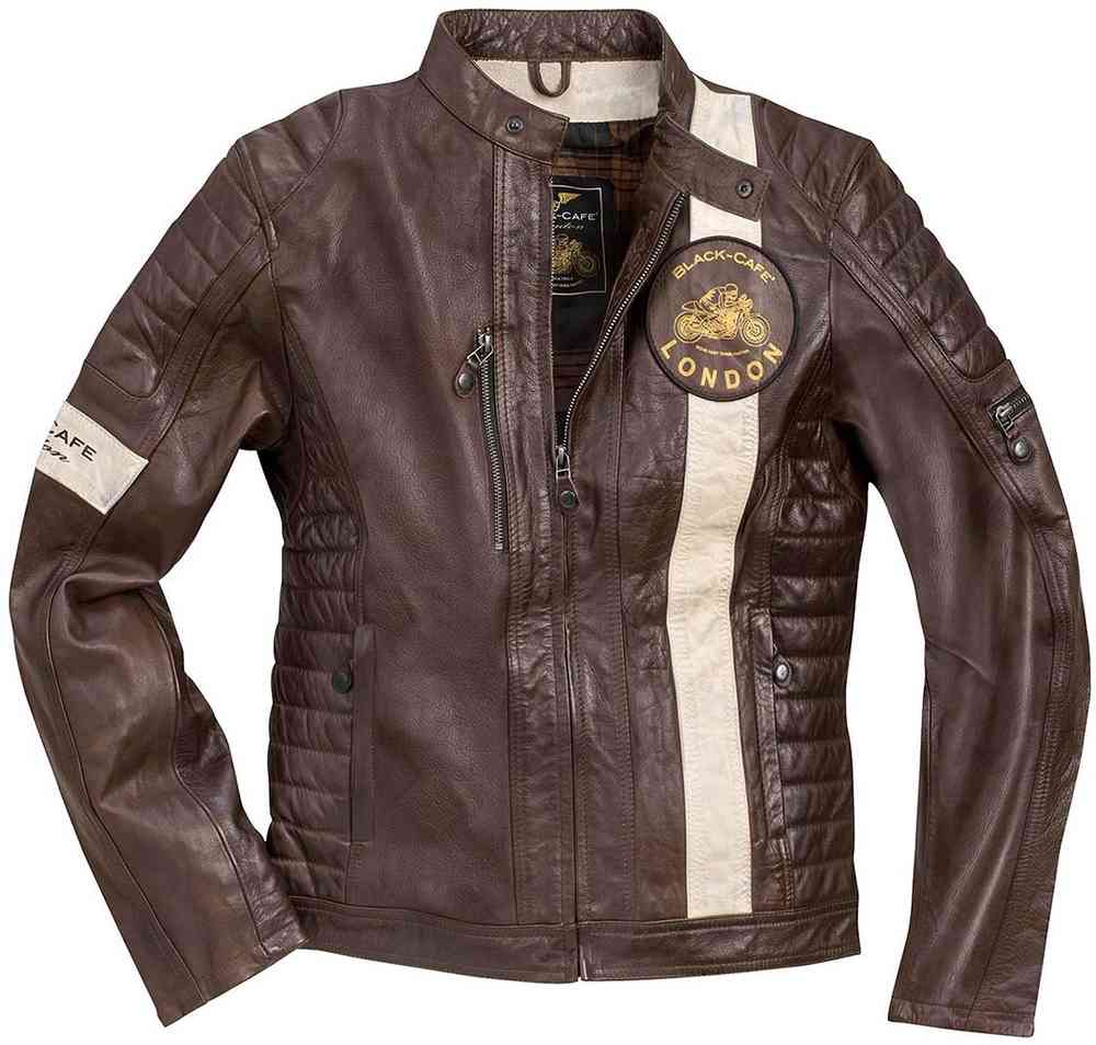 Black Cafe London Paris Motorrad Lederjacke