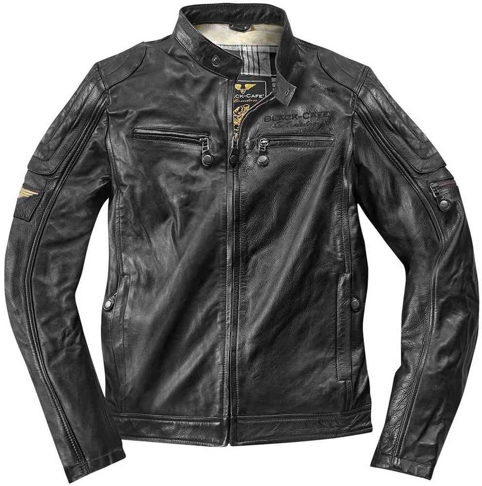 c3396e9579c Black-Cafe London Schiras Leather Jacket - buy cheap ▷ FC-Moto