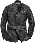Black-Cafe London Kerman Motorrad Lederjacke