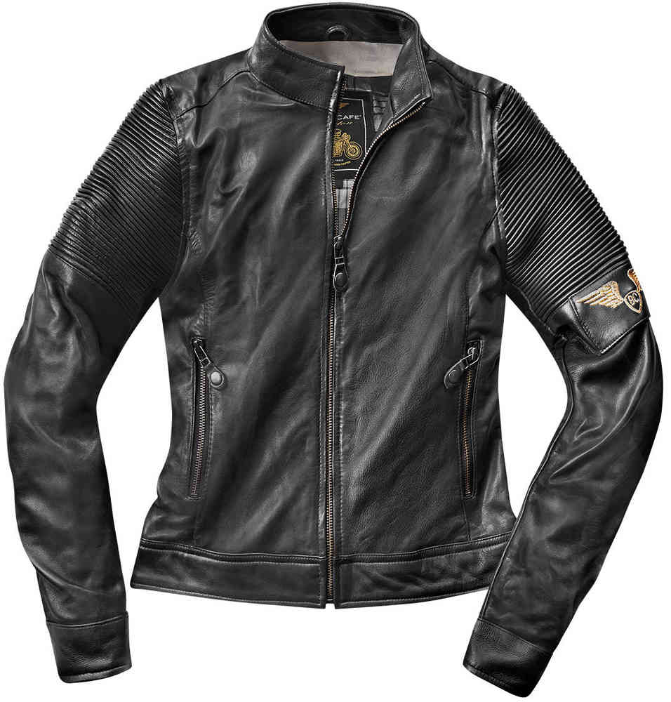 Black-Cafe London Amol Damen Lederjacke
