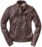 Black-Cafe London Ilam Veste en cuir de moto de dames