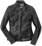 Black-Cafe London Semnan Damen Motorrad Lederjacke