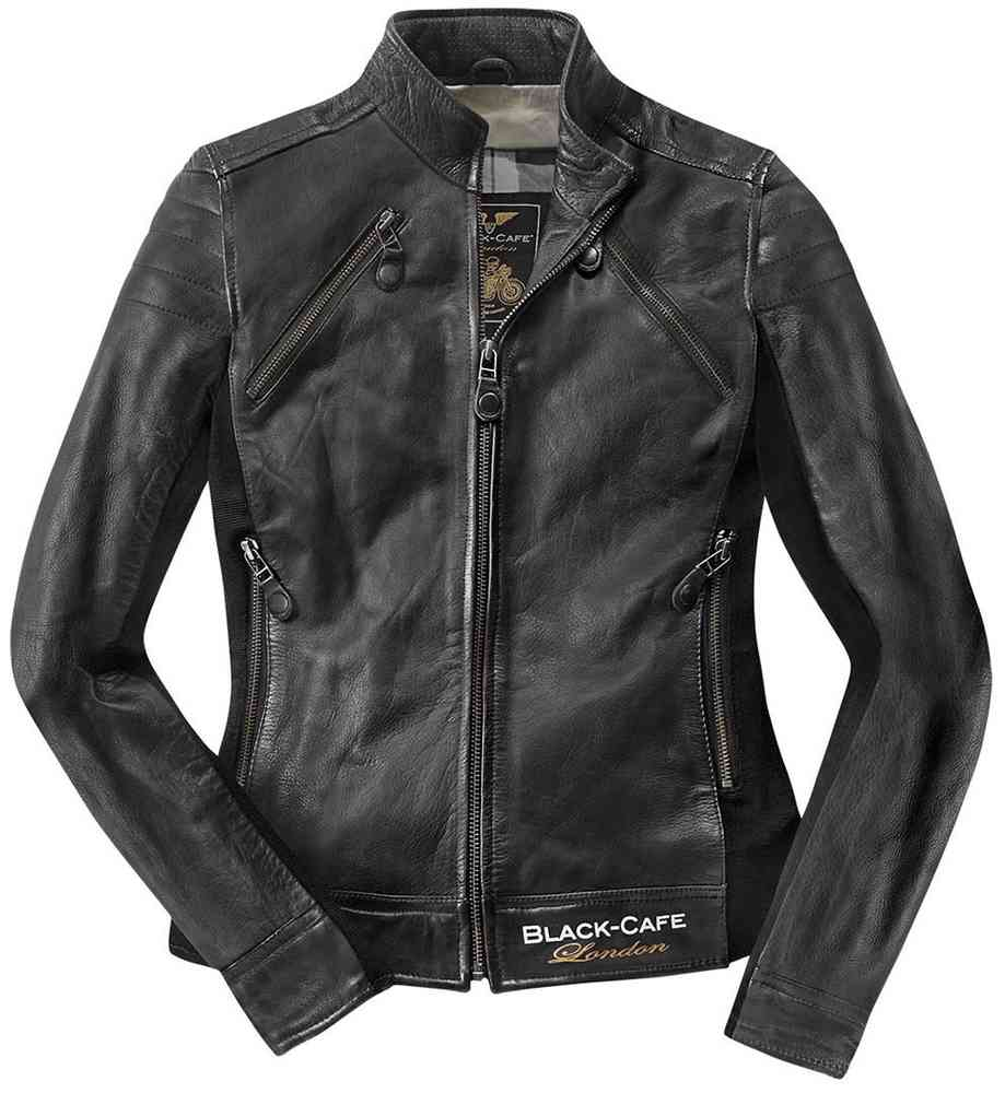 Black-Cafe London Semnan Damen Lederjacke
