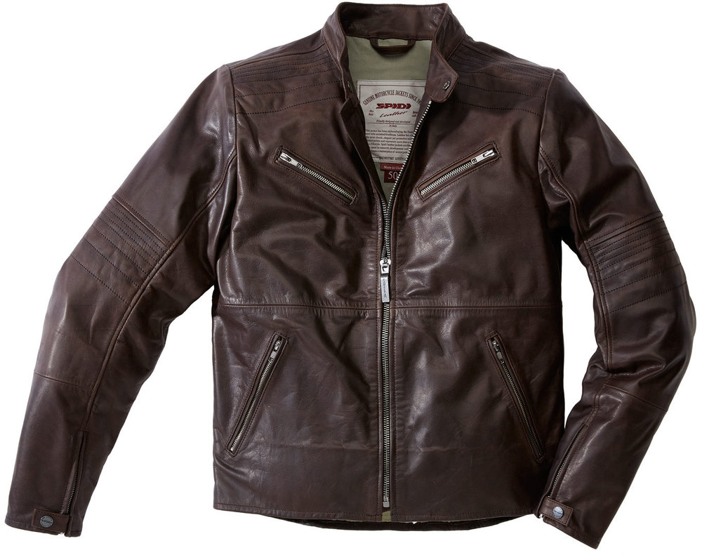 Spidi Garage Motorcycle Leather Jacket